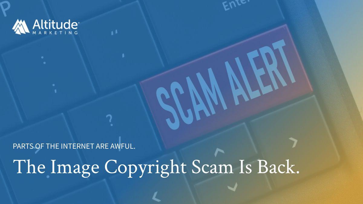 Image Copyright Scam